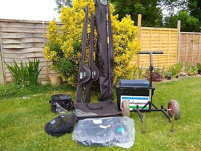 Coarse fishing Rod Bag Seat Box Trolley