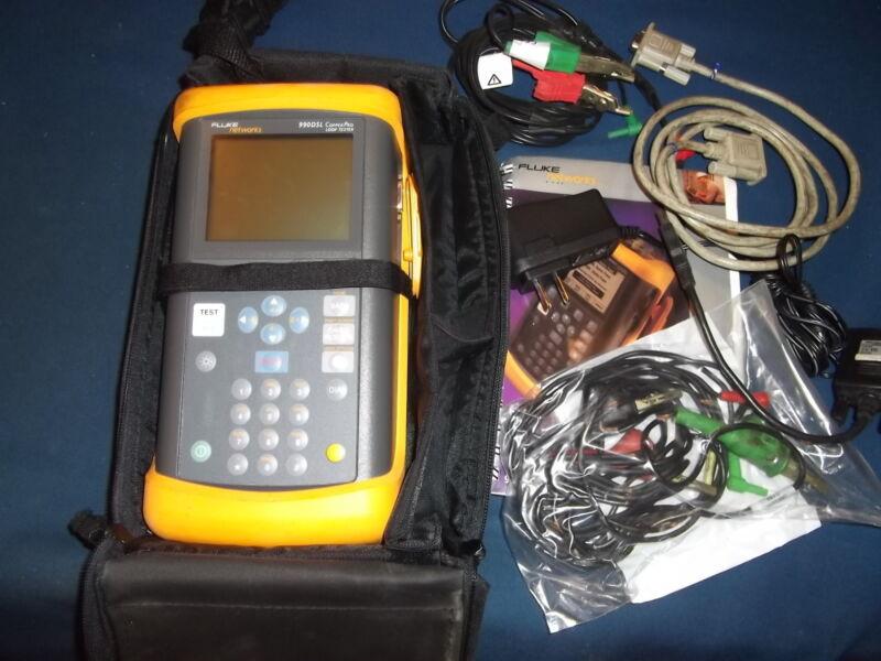 FLUKE NETWORKS 990DSL COPPERPRO LOOP TESTER TELECOM CABLE WIDEBAND TDR RFL