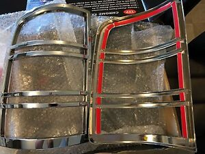 Chrome Taillight covers 2012 GMC
