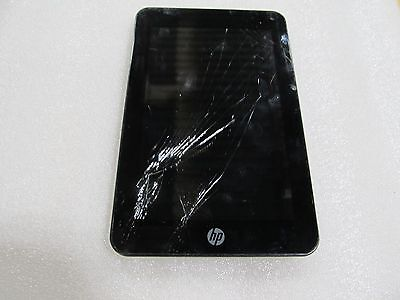 HP Slate 7 Plus 4200US 8GB, Wi-Fi, 7in - Silver Cracked Screen (33046)