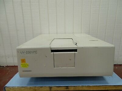 Shimadzu Uv-2501pc Uv Double Blazed Double Monochromator Spectrophotometer