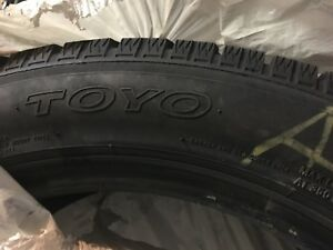 "18"" Toyo winter tire set - good condition"