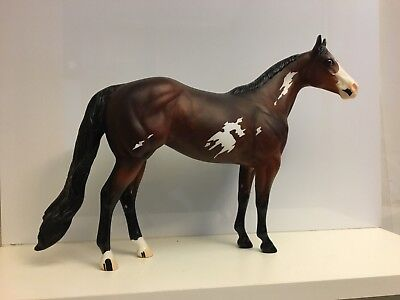 ES Nantucket - Peter Stone Model Horse - Bay Paint - #9999 - 2000