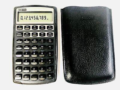 HP 10bII+ Financial Calculator Business Accounting Banking W/ New Batteries