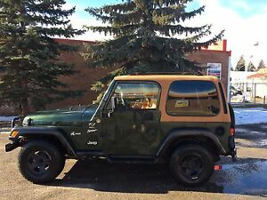 1997 Jeep TJ Sport 4.0L Great Condition