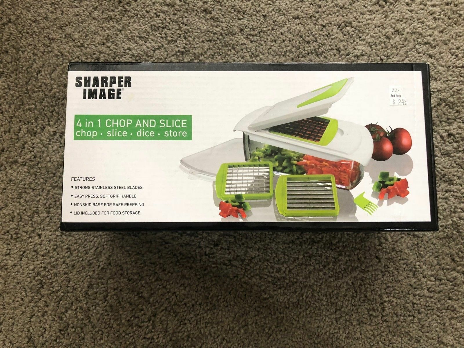 Sharper Image 4 In 1 Chop And Slice Ebay