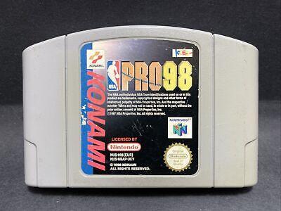 N64 Nintendo 64 Game - NBA Pro 98 - PAL