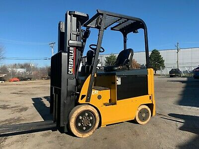 2011 Caterpillar 5000pound Forklifts-budget-triple-sideshift-4 Way-we Will Ship