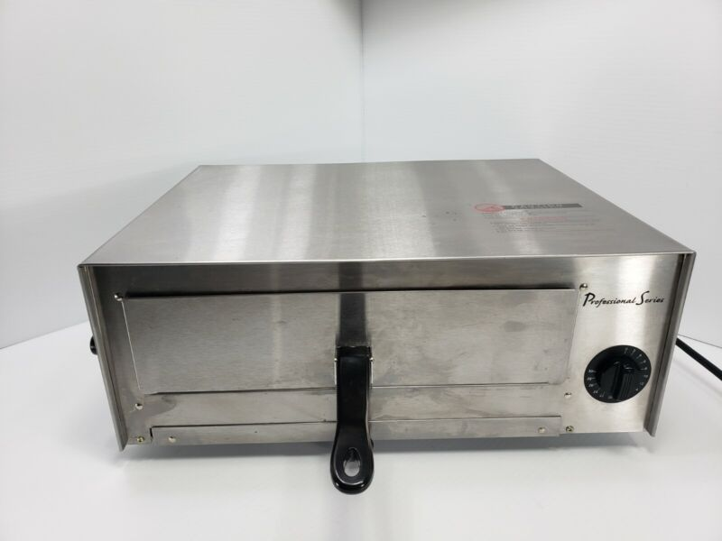 Nice! Professional Series PS75891 Pizza Oven & Frozen Snack Oven Stainless Steel