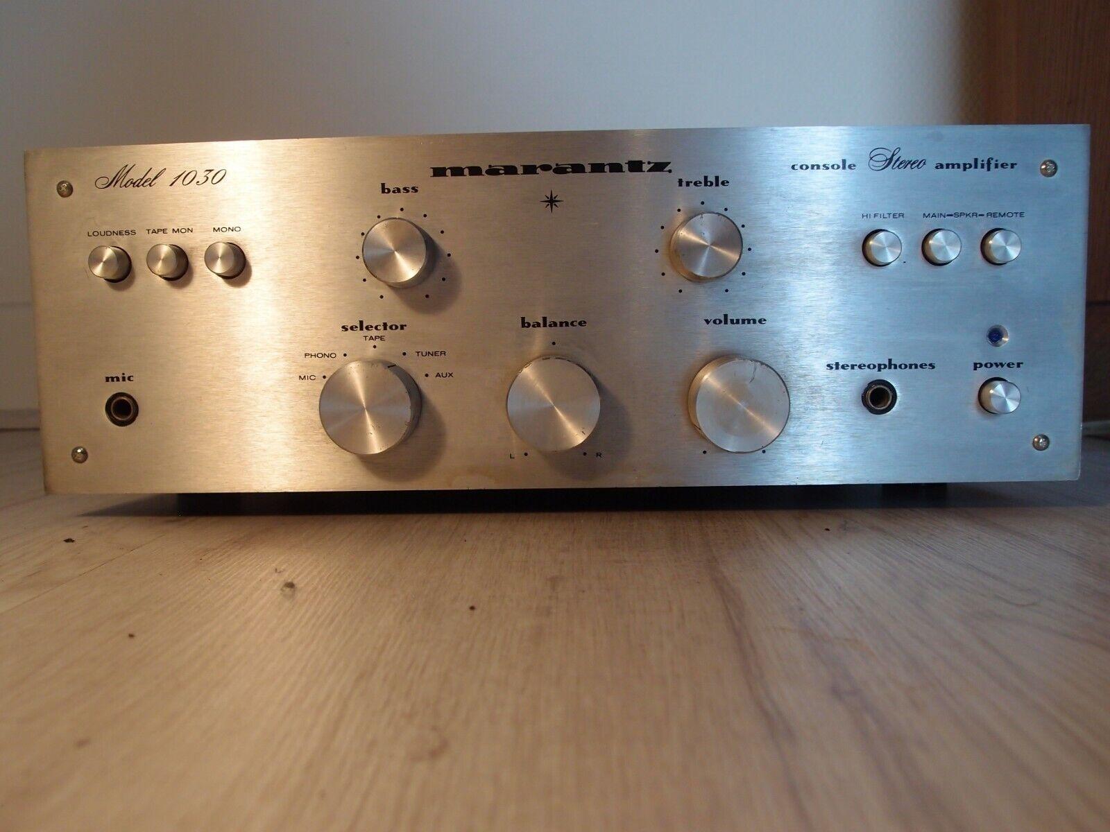 Amplificateur hifi vintage marantz 1030 ampli stéréo années 70