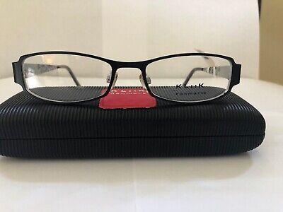 Eyeglasses Klick/ Fysh, K-457, Black Silver Women's (Klick Glasses)