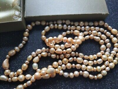 """Honora Collection cultured fresh water pearl long necklace New"""""""