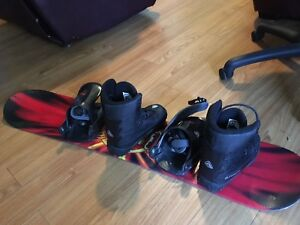 Firefly Snowboard Bindings and Boots