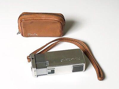 Rare Vintage Minolta 16 Subminiature 16mm Film Spy Camera Chiyoda Koganu Japan for sale  Port Saint Lucie