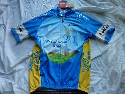 Hincapie Amgen Tour Of California Cycling Jersey Nwt 21 5Inches Armpit To Armpit