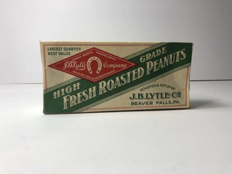 Vintage Fresh Roasted Peanuts Box