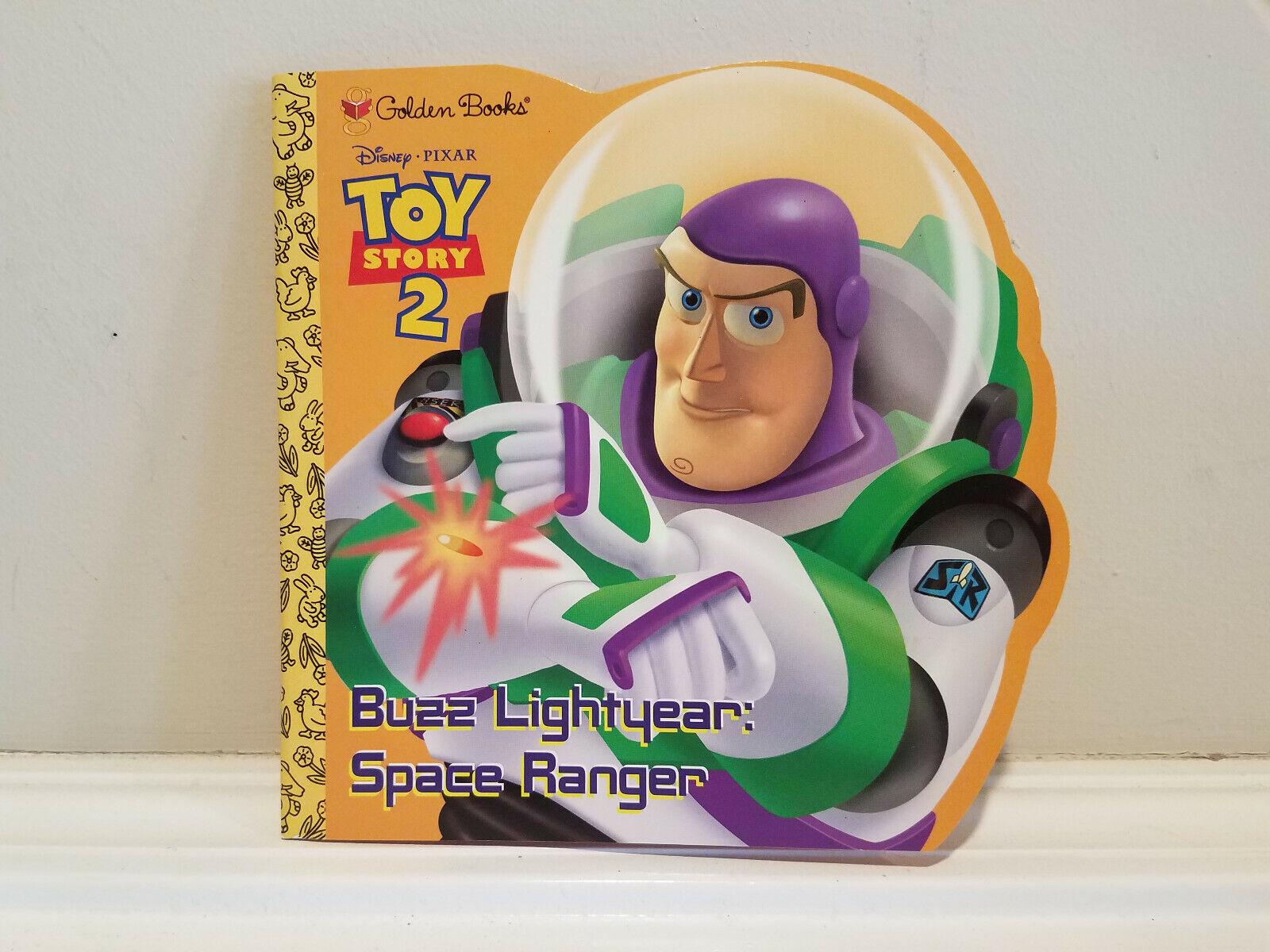 Golden Books Disney Pixar Toy Story 2 Buzz Lightyear Space R