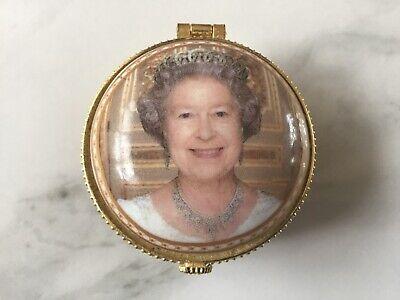 ROYAL CREST - QUEEN ELIZABETH DIAMOND JUBILEE  - TRINKET / PILL BOX