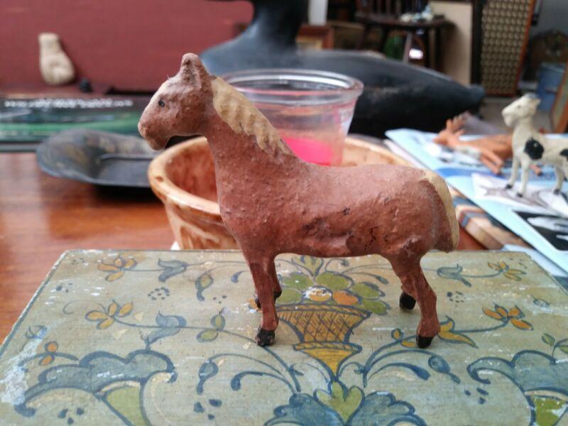 Early Composition Horse Figure Farm Animal