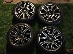 """2010 Ford Mustang GT 19"""" OEM Rims and Pirelli Tires"""