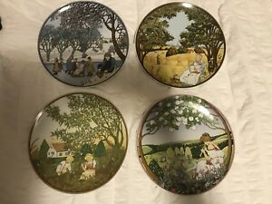 Heinrich Villeroy & Boch Decorative Plate Set