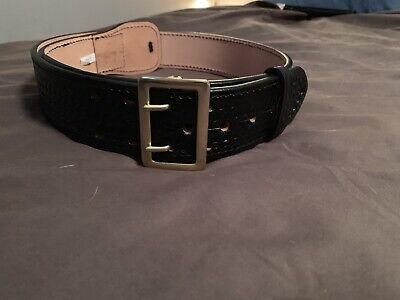 Police Basketweave Duty Belt And Gear