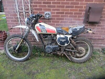 Yamaha XT500 1976 US import barn find spares repair or restoration