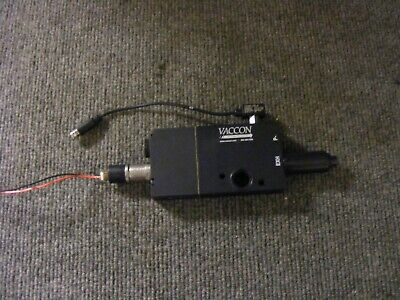 Vaccon Mid Series Segmented Vacuum Manifold - 28 Hg Cat No. Vmbv8a-60h-0-0-a-1