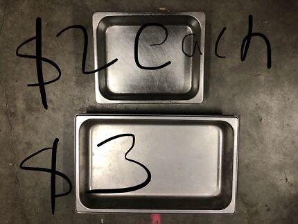 Bainmarie trays