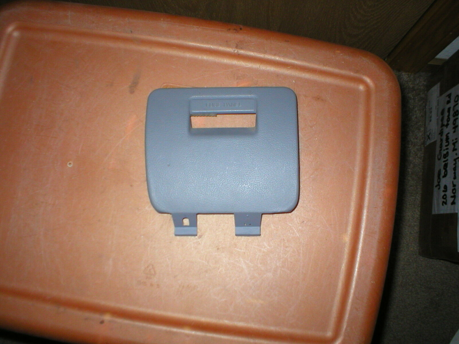 Used Ford Trim For Sale Page 71 1992 Tempo Fuse Box 1996 Pickup Truck Interior Cover Lid Gray Color