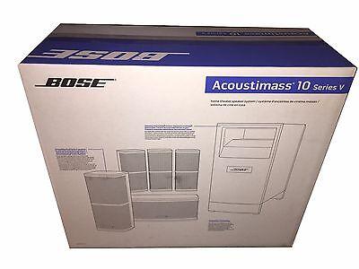 Bose Acoustimass 10 Series V home theater speaker system Brand NEW