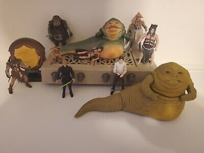Star Wars Vintage Collection Black Series Return of the Jedi Jabba Rancor Luke