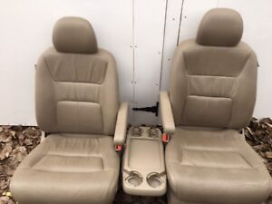 Honda heated leather seats