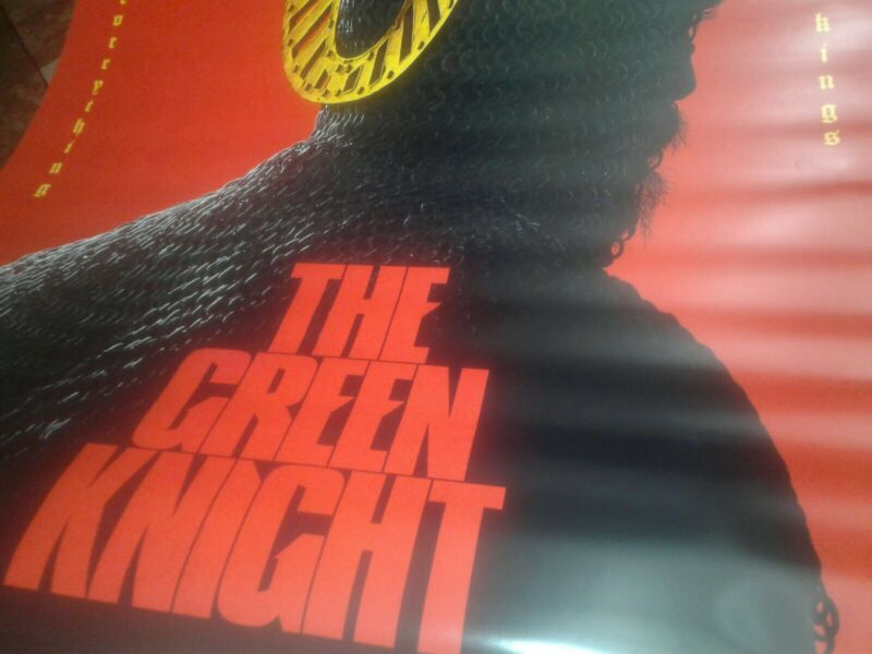 King Arthur CHARLIE HUNNAM & THE GREEN KNIGHT 27x40 DS Original Theater Posters