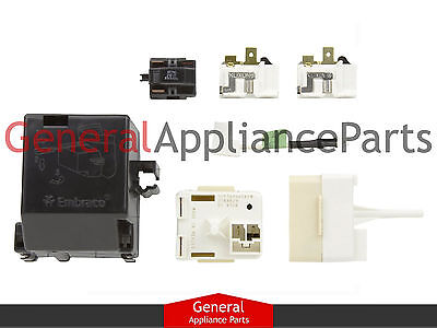 KitchenAid Kenmore Sears Start Relay Overload Compressor 2212194 2216697 2216722
