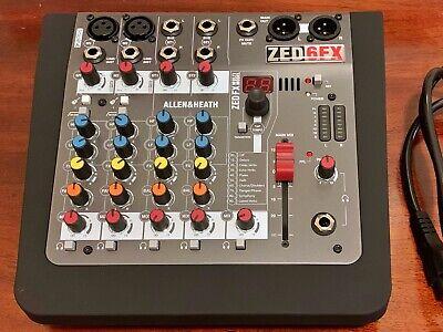 Allen Heath Zed 6FX 6 Cannel Mixer - Mint & Unused