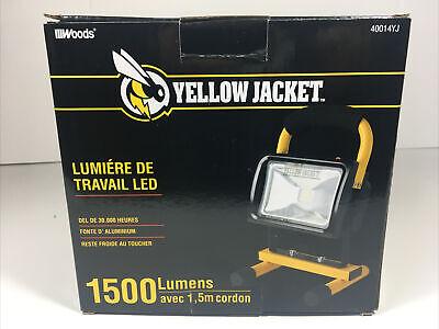 Yellow Jacket Led Work Light 1500 Lumens Shadow Free Shop Jobsite New