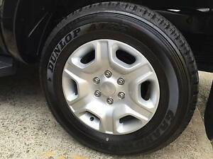 Ford Ranger 4 X Dunlop 265/65R17 112T Grandtrek At22 4WD Tyres & Fairfield East Fairfield Area Preview
