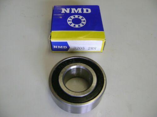 NMD 3205-2RS 5205-2RS DOUBLE ROW BALL BEARINGS 25X52X20.6