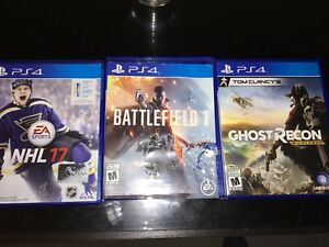 PS4 Games - Great Condition