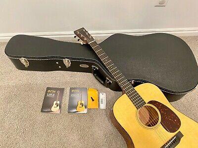 2019 Martin Standard D-18 Acoustic Guitar Spruce Mahogany