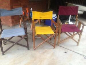 Camping chairs free Epping Ryde Area Preview