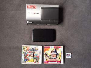 Nintendo 3DS XL - Includes 3 Games