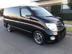 2010 Nissan Elgrand High Way Star 6 months Rego & 12 month warranty in Meadowbrook Logan Area Preview