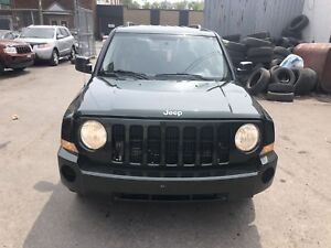 2010 Jeep Patriot NORTH EDITON 4cylinder 4X4 212000km 3199$