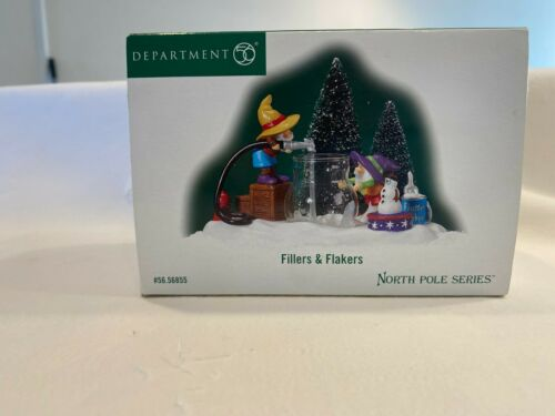 DEPT 56 NORTH POLE VILLAGE FILLERS AND FLAKERS