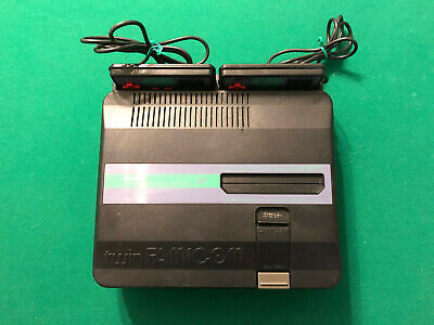 Nintendo Sharp Twin Famicom AN-505-BK - Refurbished & Working! - Console Only