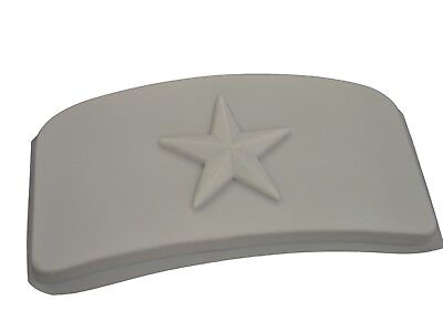 Star Curved Bench Top Seat Cement Patio Garden Concrete Mold 9014 Moldcreations