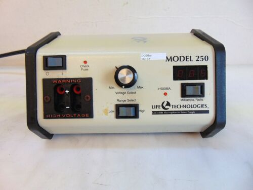 Life Technologies Gibco BRL Electrophoresis Power Supply Model 250. S6187