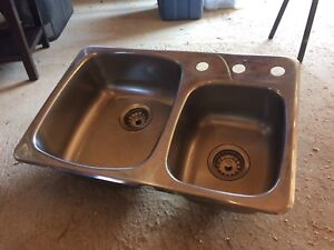 Double Sink - Stainless Steel